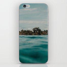 Shipwrecked Ocean Blues iPhone Skin