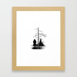 Huldra Framed Art Print