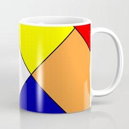 Mondrian #18 Coffee Mug