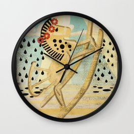 The Dance of the Rocking Horse Wall Clock