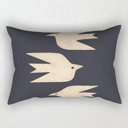 Doves In Flight Rectangular Pillow
