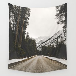 Great Mountain Roads - Nature Photography Wall Tapestry