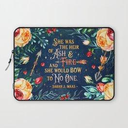 Ash & Fire Laptop Sleeve