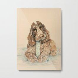 Puppy #9 Metal Print