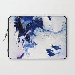 Riveting Abstract Watercolor Painting Laptop Sleeve