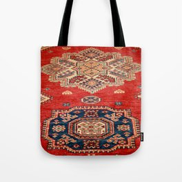 Natural Dyed Handmade Anatolian Carpet Tote Bag