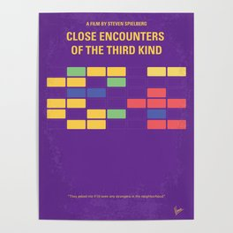 No353 My ENCOUNTERS OF THE THIRD KIND mmp Poster