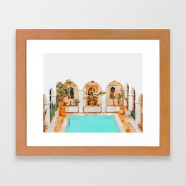 Turkish Holiday #painting #travel Framed Art Print