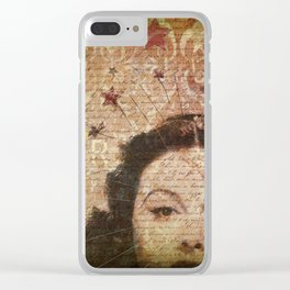 Kelly Watch The Stars Clear iPhone Case