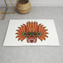Sri Lanka Devil Mask Rug