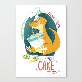 Piece of Cake Canvas Print