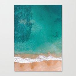 Beach and Sea Canvas Print