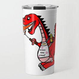 BBQ Dragon Travel Mug