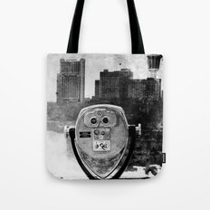 Niagara Falls Noir Tote Bag