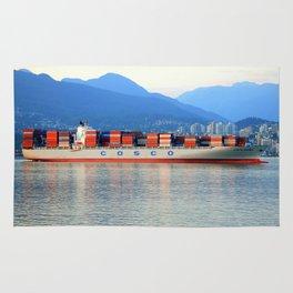 COSCO Xaimen container ship Rug