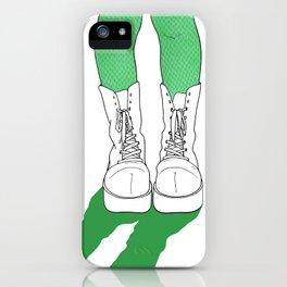 Rainbow Gossip - Green iPhone Case