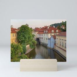 Water Mill, Kampa Island, Prague, Czech Republic Mini Art Print