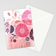 I Am Going To Daydream Today Stationery Cards
