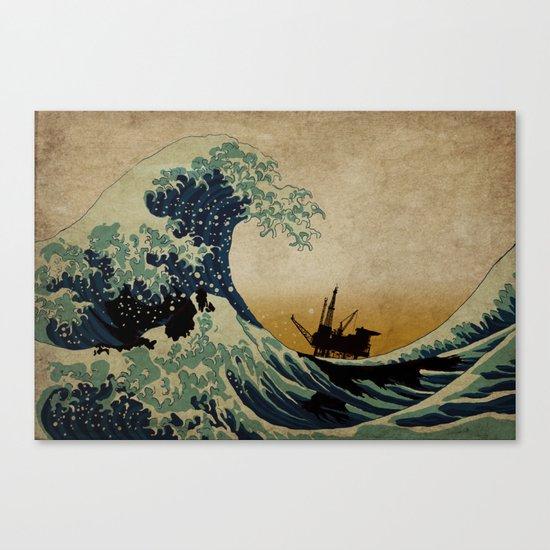 New Wave Canvas Print
