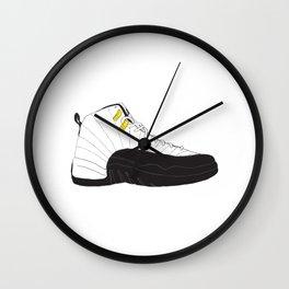 Jordan 12 Taxi Wall Clock