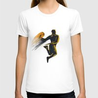 basketball T-shirts featuring Basketball  by Enzo Lo Re