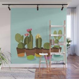 Cacti Gang Wall Mural