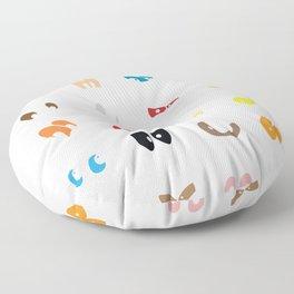 Different Eyes  Floor Pillow
