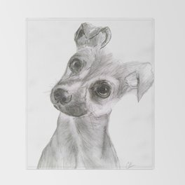 Chihuahua Dog Throw Blanket