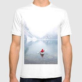 Kayaking Across A Canadian Lake T-shirt