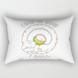 California Cat Roll Rectangular Pillow