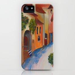 Tuscan Lane iPhone Case
