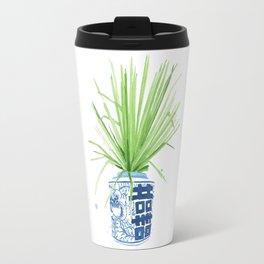 Ginger Jar + Fan Palm Travel Mug