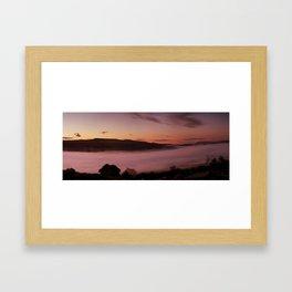 Black Mountains Dawn Framed Art Print