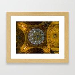 Domed. Framed Art Print