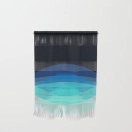 Aqua Black Ombre Wall Hanging