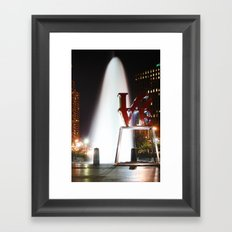 Love Park Framed Art Print