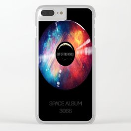 SPACE ALBUM 3066 Out of this World Clear iPhone Case