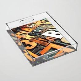 3B - Typography Photography™ Acrylic Tray