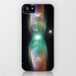 prism of the interdimensional iridescent   space 07 iPhone Case