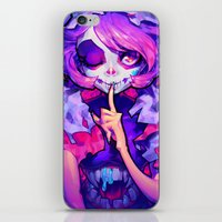 barachan iPhone & iPod Skins featuring wraith by barachan
