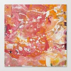 Florida Sunset (Bright Orange & Hot Pink) [Crystal Hoffman] Canvas Print