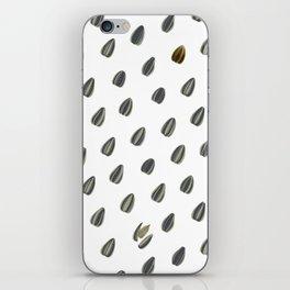 Pipas (sunflower seeds) pattern. iPhone Skin