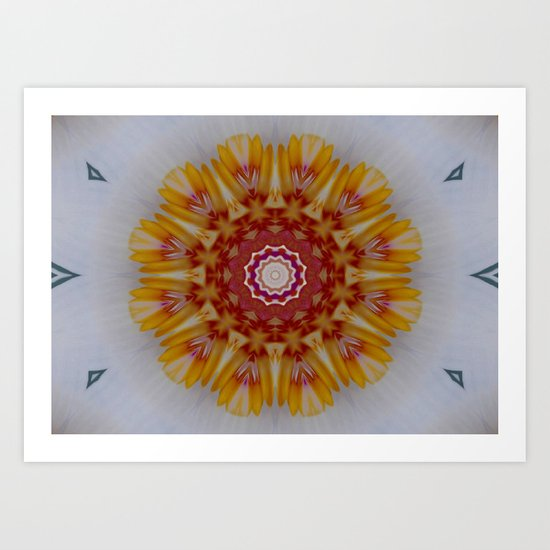 Sunmandala Art Print