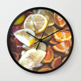 CITRUS! Wall Clock