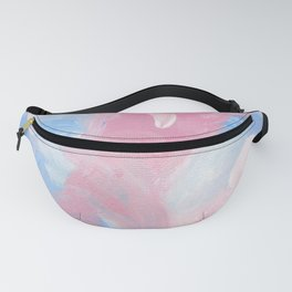 Berry Abstract Fanny Pack