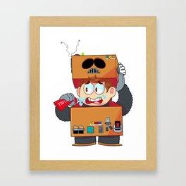 A.W.E.S.O.M.-O Framed Art Print