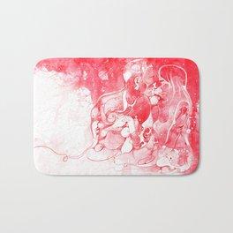 Love Is Red Bath Mat