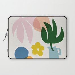 Abstraction_Floral_002 Laptop Sleeve