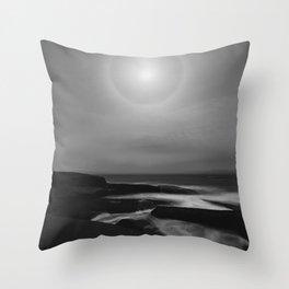 Lunar Coast Throw Pillow