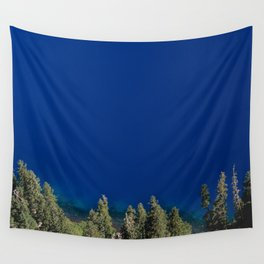 Crater Lake Blue II Wall Tapestry